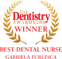 best dental nurse gabriela furlesca award1