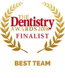 best dental nurse gabriela furlesca award1