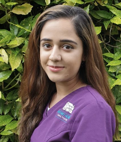 Team Member - Hafsa Ullah